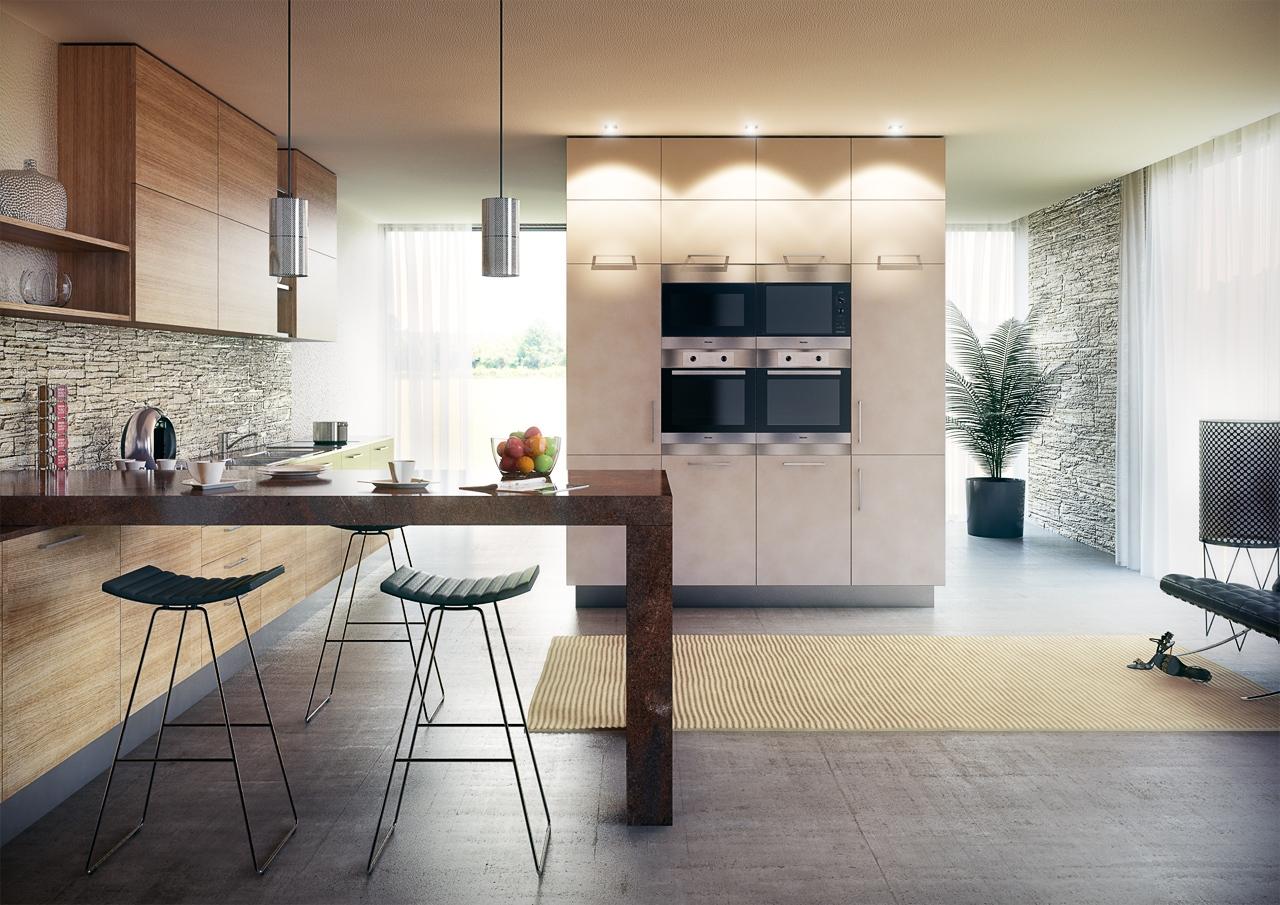Vizualizace interi r ob vac ch pokoj lo nic kuchyn koupelen d tsk ch pokoj Interior design visualization